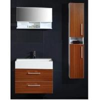 Wholesale Elegant Wall Mounted MFC Bathroom Vanity Cherry Color  (PB207) from china suppliers