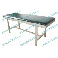 Wholesale Maunal Artificial Leather Medical Examination Couch with Back - rest Lifting from china suppliers