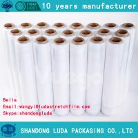 Wholesale 25 mic Transparent cling Film /PE film wrap SGS certfied from china suppliers