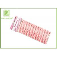 Wholesale Yellow And White Party Paper Straws Party Accessories Greaseproof from china suppliers