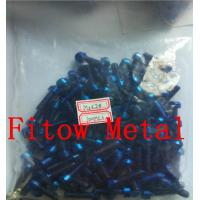 Wholesale Colorful Bike Titanium Grade 5 Screw Bolts Torx Flange Tapered Head from china suppliers