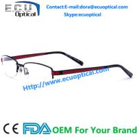 Buy cheap New Arrival 2014 Men High End Charmant Z Pure Acetate Glasses Optical Frame Blue from wholesalers