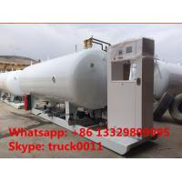 Wholesale ASME standard 20m3 skid-mounted lpg gas plant, hot sale best price 8 metric tons mobile skid-mounted lpg gas station from china suppliers