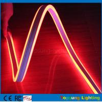 Wholesale 100m red mini led rope strip 110V 8.5*18mm 4.5w led double-sided flexible neon light from china suppliers