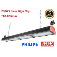 Quality Industrial 120lm/W LED Linear High Bay For Warehouse Lighting 200W IP66 5 Years Warranty for sale