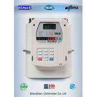Wholesale Mobile payment M-PESA  Prepayment Gas Meter Diaphragm Type 5 year above battery life from china suppliers