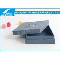 Wholesale Empty Cardboard Packing Boxes With Logo Spot UV / Wallet Paperboard Gift Boxes from china suppliers