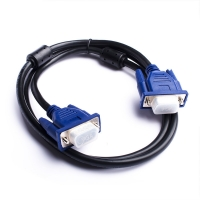Wholesale OD6mm DB9 RS232 9 Pin VGA Cable Male To Female Vga Cable from china suppliers