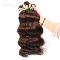 Wholesale Healthy Dyeable 7A  Virgin  Hair Bundles Full Ends No Foul Odor from china suppliers