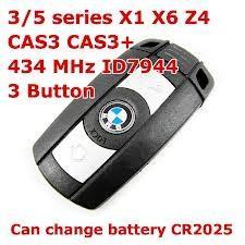 Wholesale BMW Cas 3 Smart Key 3/5 Series X1 X6 Z4 434MHZ Transponder Keys from china suppliers
