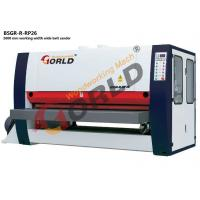 Wholesale BSGR-R-RP26 2600 mm Working Width 8 ft Width Plywood MDF Board One Side 3 Heads Wide Belt Calibration Sander from china suppliers