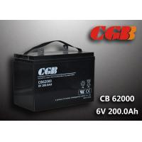 Wholesale CB62000 6v Deep Cycle Battery 200ah Power Energy Solar Wind Lead Acid Sealed Batteries from china suppliers