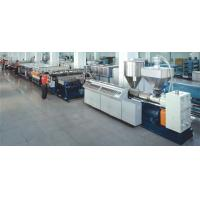 Wholesale High speed PE/PP/PC hollow profile sheet extrusion line from china suppliers