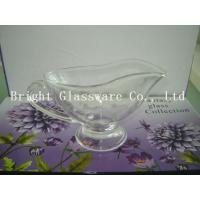 Wholesale perfect design glass ice cream bowl with handle, Footed Ice Cream Bowls, glass tea pot from china suppliers