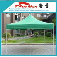 Quality Portable Black 10x10 Folding Canopy Tent With Aluminium Alloy Frame for sale