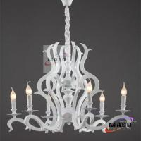Wholesale MASO Art Six Lamps Pendant Chandelier Modern Design with Resin Material For Light indoor from china suppliers