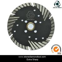 Wholesale 100mm triangle/turbo/sintered small diamond cutting and grinding saw blade from china suppliers