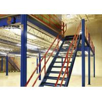 Buy cheap Boltless / Rivet Shelving Max 6000mm Upright For Warehouse Use Mezzanine Deck from wholesalers