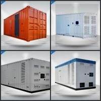 China Super Quiet  Perkins Container Generator Set 1400 Kw With Large - Capacity Air Cleaner on sale