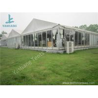 Wholesale Outdoor Transparent Glass Wall Pagoda Party Tent for DIY Shop , 12 x 18M from china suppliers
