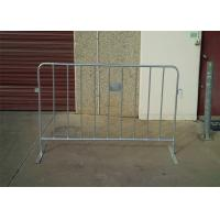 Wholesale Professional PVC Coated HDG Metal Crowd Control Barriers OD 25*2.0mm from china suppliers