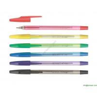 Wholesale transparent simple office ball point pen,cheap price pen from china suppliers