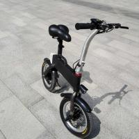 Quality CE FCC Certification 36v 400w Folding Electric Bicycle , Fold Up Electric Bike for sale