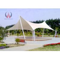Wholesale Strained Membrane Park Shade Structures Outdoor Shade Awnings Knock Down Type from china suppliers