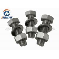 Wholesale GB Half Thread Hexagon Head Stainless Steel Bolts , M4-M36 Thumb Screws from china suppliers
