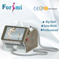 Wholesale Big spot sizes portable 808nm diode laser permanent depilacion laser hair removal machine from china suppliers