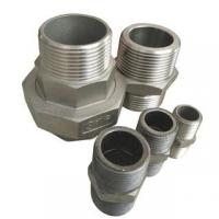 Wholesale Stainless Steel Hydraulic Forged Equal Hex Male Thread Double Nipple Pipe Fitting from china suppliers