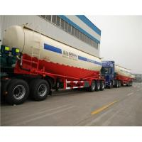 Wholesale High end Carbon Steel Bulk Cement Trailer for fly ash , lime powder ,  granular base from china suppliers