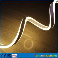 Wholesale high quality 24V double side warm white led neon light for decoration from china suppliers