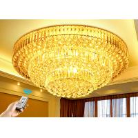 Wholesale Polishing 3 Layers Modern K9 Crystal Ceiling Lamps For House Estates from china suppliers