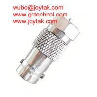 Wholesale Coaxial Adapter Coaxial Adaptor BNC Female To F Male CCTV Connector / BNCF.FM.02 from china suppliers