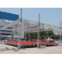 Wholesale Fixed Lightweight Trade Show Exhibit Truss Fireproof Hard Welding Easy Assembly from china suppliers