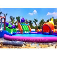 Wholesale Outdoor 30m 18OZ PVC Octopus Slide Inflatable Aqua Park Inflatable Water Games from china suppliers