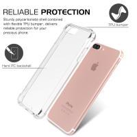Quality Anti - Scratch Slim Apple Cell Phone Cases Clear Back Cover For IPhone 7 Plus for sale