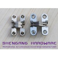 Buy cheap Door Hardware Invisible Stainless Steel Hinges With Satin Chrome Finish from wholesalers