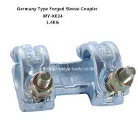 Wholesale EN74 Double scaffold sleeve coupler , anti - corrosion scaffold swivel coupler from china suppliers