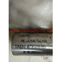 Wholesale A312 Stainless Steel Welded Pipe For Decoration 201 / 304 / 410 / 430 Grade from china suppliers