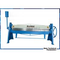 Wholesale manual steel folding machine/steel sheet metal bender/duct folding equipment from china suppliers