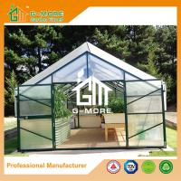 Wholesale 406x406x273cm Green Color Durable 15 Years Warranty Aluminum Planthouse from china suppliers