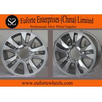 Wholesale OEM 17inch Hyper Silve toyota aluminum rims for Land Cruiser , 16x8 off road wheels from china suppliers