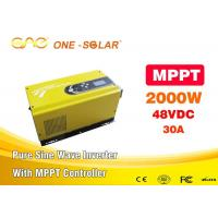 Wholesale Hi Tech Pure Sine Wave Solar Inverter For Home , Solar Inverter Mppt from china suppliers