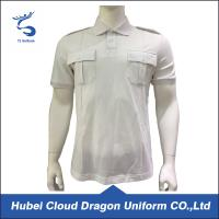 Wholesale White European Size Formal Men ' S Polyester Polo Shirts 100% Cotton from china suppliers