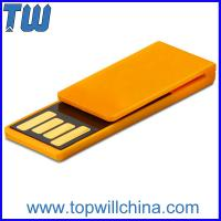Wholesale Plastic Paper Clip Pen Drive Price 4GB Storage to Fit for Your Daily Use from china suppliers