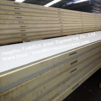 Wholesale Polystyrene Refrigerator Room Panels 42kg Density With Color Steel / Stainless Steel Plate	External from china suppliers