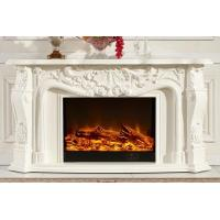 Wholesale Customized Freestanding Decorative Electric Fireplace With Heater from china suppliers