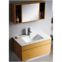 Wholesale Fashion Plywood with Wooden Veneer Bathroom Cabinet  (BL-124) from china suppliers